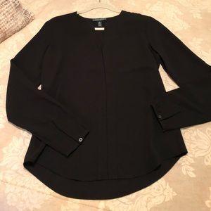 Ralph Lauren black blouse